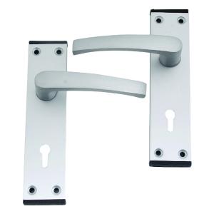 4Trade Oxford Lever Lock Satin Anodised Aluminium