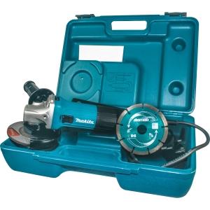 Makita 720W 115mm Slim Angle Grinder Kit GA4530RKD 240V