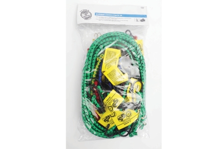 Status T+t Bungee Cords Assorted Pack 24