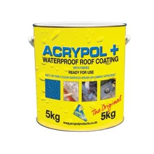Acrypol + Waterproof Roof Coating 5kg Grey