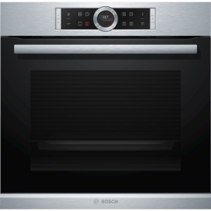 Bosch Serie 8 Integrated Single Pyrolytic Oven Stainless Steel - HBG674BS1B