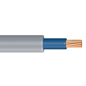 Time 6181Y 25mm Meter Tails Cable Blue 50m