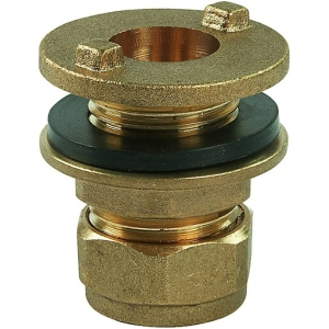 Tank Connector Compression 15mm