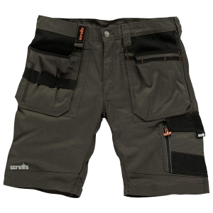 Scruffs Slate Trade Short 34inW