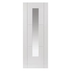 White Mistral Primed Glazed Internal Door