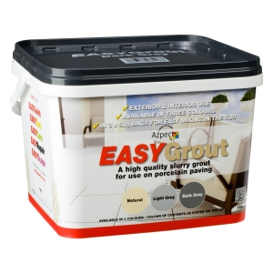 Easygrout Dark Grey 15kg Porcelain Jointing Grout