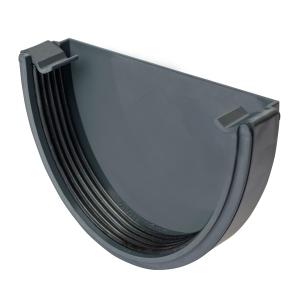 Osma Deepline Stopend External Anthracite Grey 113mm