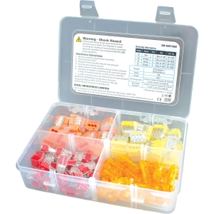 Ideal Industries Limited 30-5011EU PUSH-IN Connector Installer Kit 120 Piece