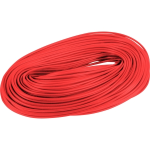 PVC Cable Sleeving 100m 3mm Red