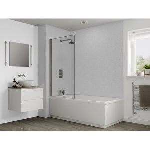 Multipanel Classic Bathroom Wall Panel Unlipped Blizzard G030