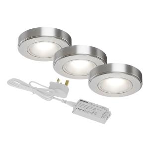Sensio SE11190N3 Zeta Under Cabinet 3 Light Kit Natural White