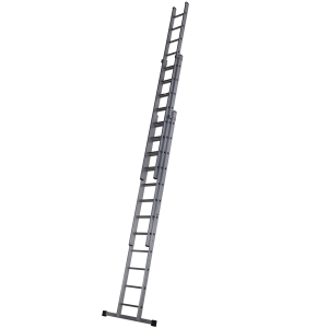 Youngman 3 Section Trade 200 Ladder 3.67m-9.18m