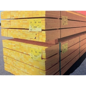 Treated Roofing Batten 25 x 50MM 4.8M BS5534