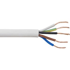 Pitacs 5 Core Heat Resistant Flex Cable 3095Y 0.75mm2 x 10m Coil