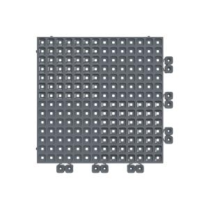 Versoflor Upflor Flooring Tile Graphite Grey 9 Pack