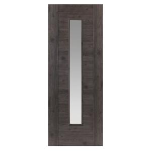 Alabama Cinza Internal Laminate Prefinished Glazed Door