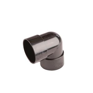 OsmaWeld 90¡ knuckle bend black 50mm