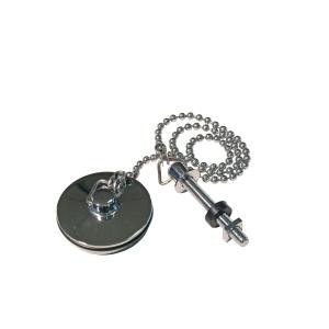 4Trade 1 1/4in Chrome Basin Plug