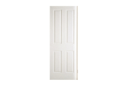 Moulded 4 Panel Grained Hollow Core Internal Door 2032mm x 813mm x 35mm