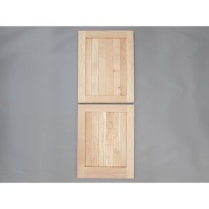 Heritage Solid Oak Custom Size Framed Ledged External Stable Door