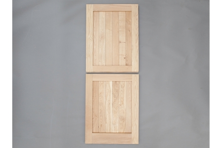 Solid Oak External Door Framed Ledged Stable External Door Custom size