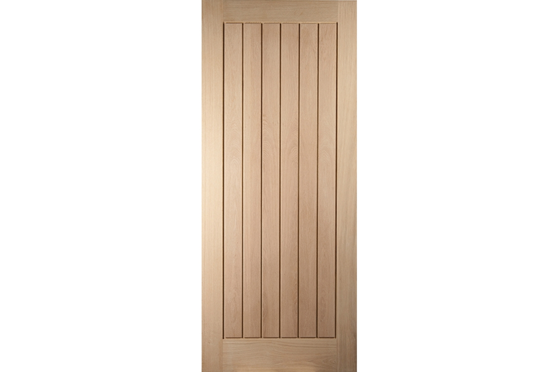 Oregon Cottage White Oak Exterior Door 1981x762mm