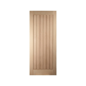 Oregon Cottage White Oak Exterior Door
