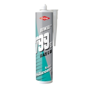 Dow Corning 799 Glazing Silicone Clear 310ml