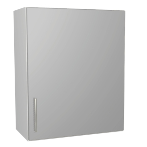Orlando Gloss Grey Kitchen 600mm Wall Unit