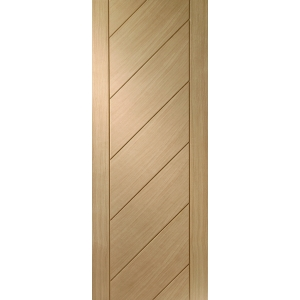 Internal Oak Veneer Monza Fire Door FD30 1981 x 762 x 44mm (78in x 30in)