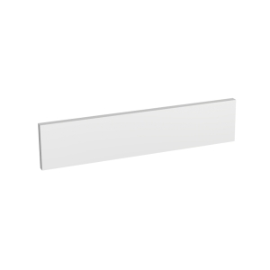 Madison Gloss White 600 x 131mm Appliance Fascia