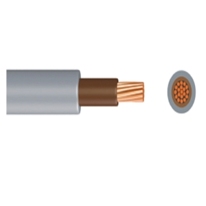 Time 6181Y 25mm Meter Tails Cable Brown 50m