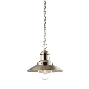 Endon Lampada Pendant Light Satin Nickel