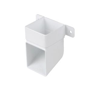 Osma SquareLine 4T832 Pipe Shoe & Bracket 61mm White