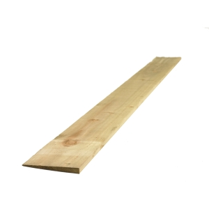 Feather Edge Board Treated Green 2 ex 22mm x 125mm x 1800mm