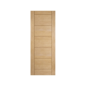 Oregon Ladder Panel Interior White Oak Door