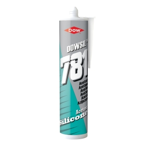 Dow Corning 781 Silicone Sealant Clear 310ml