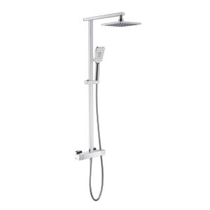 iflo Duxford Thermostatic Bar Mixer Shower