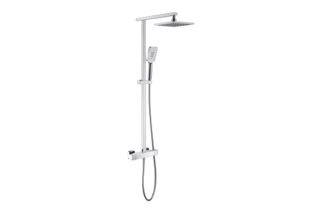 iflo Duxford Thermostatic Bar Mixer Shower