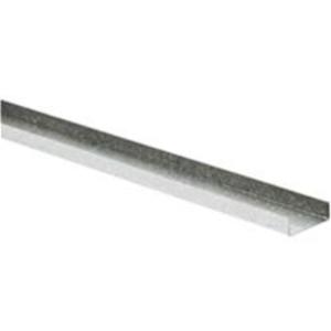 Tradeline Standard Galvanised Steel Track Stud PT72 3000mm x 72mm x 25mm