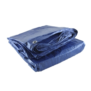 4Trade Heavy Duty Multi Purpose Waterproof Tarpaulin Blue