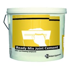 British Gypsum Gyproc Readymix Joint Cement 12L