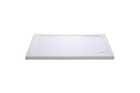 iflo Abs Capped Slimline Stone Shower Tray 1200mm x 800mm