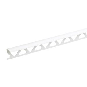 Homelux Tile Trim 2440 x 6mm White