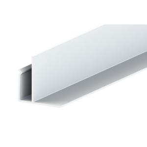 Liniar Soffit F Trim White 3000mm x 50mm (Pack of 5)