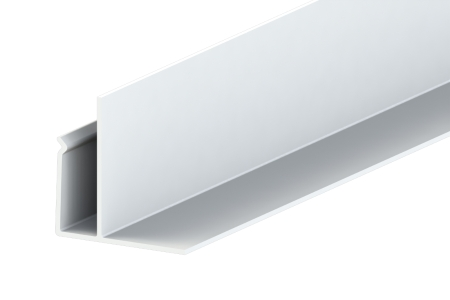 Liniar Soffit F Trim White 3000mm x 50mm (Pack of 5)
