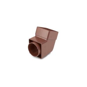 Osma SquareLine 4T825 Offset Bend Socket 61mm Brown