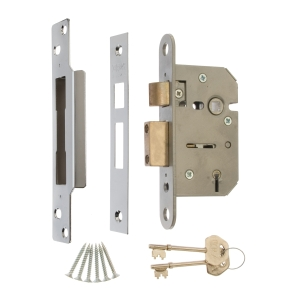 Viscount 5 Lever Sash Lock 64mm CHROME20-62 (Clam Packed)