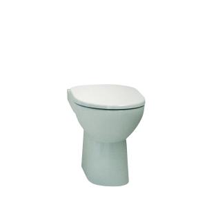 Twyford E100 Square Standard Close Coupled Toilet Pan E11148WH