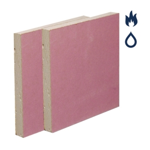 British Gypsum Gyproc Fireline Moisture Resistant Plasterboard 15mm Tapered Edge 3000mm x 1200mm